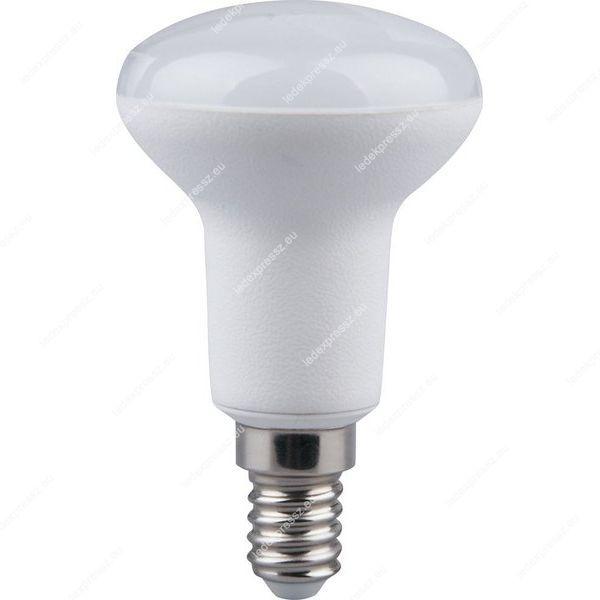 LED izzó R50 E14 7W meleg fehér