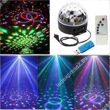 Led kristály disco gömb RGB, MP3 lejátszóval