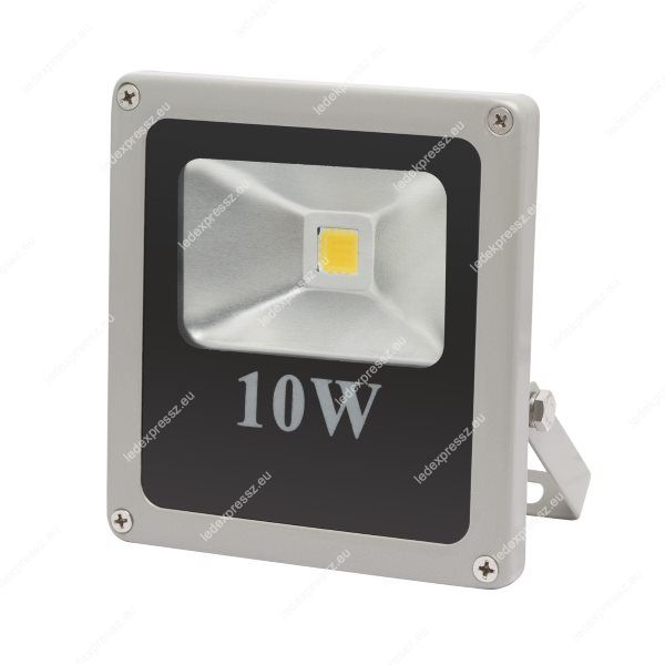Led reflektor 10W IP65 800 Lumen hideg fehér lapos