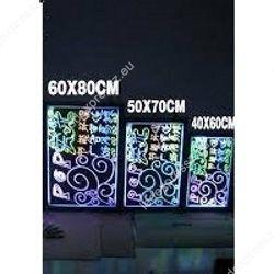 Írható RGB led tábla 40x60 cm, ledexpressz.eu