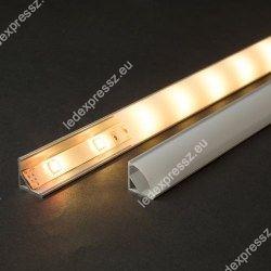 CABI12 ALU LED PROFIL LED szalag beépítéséhez, ledexpressz.eu