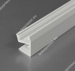 EDGE10 ALU LED PROFIL LED szalag beépítéséhez, ledexpressz.eu