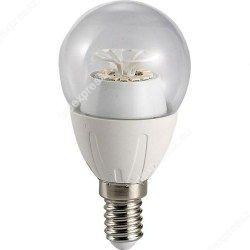 Led átlátszó körte égő 6W, E14,540 lumen, 45mm, 2700 kelvin, meleg fehér, ledexpressz.eu