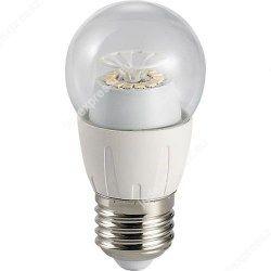 Led átlátszó körte égő 6W, E27,540 lumen, 45mm, 2700 kelvin, meleg fehér, ledexpressz.eu