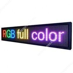 Led fényújság 1 méter x 20 cm kültéri RGB, ledexpressz.eu