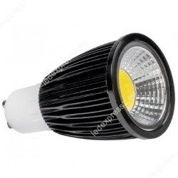 LED GU10  7W hideg fehér 230V
