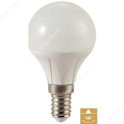 Led körte égő, E14, 380 Lumen, 4W, 45mm, meleg fehér, ledexpressz.eu