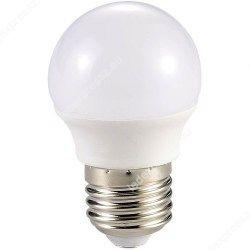 Led körte égő 6W, E27, 590 lumen, 45mm, 2700 kelvin, meleg fehér, ledexpressz.eu