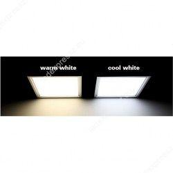 LED panel 60x60mm 36W meleg fehér süllyesztett ultra lapos, ledexpressz.eu