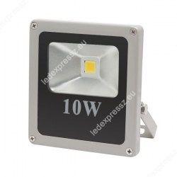 Led reflektor 10W IP65 800 Lumen meleg fehér lapos