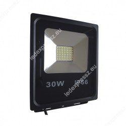 LED reflektor 30W, SMD, kültéri, meleg fehér fény - IP65