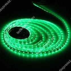 Led szalag kültéri zöld 60 led/m, 3528 chip, 12V, 60 led/m