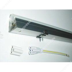 18W 117 cm LED fénycső opál armatúrával egybeépítve