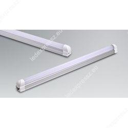 18W 117 cm LED fénycső opál armatúrával egybeépítve (melegfehér)