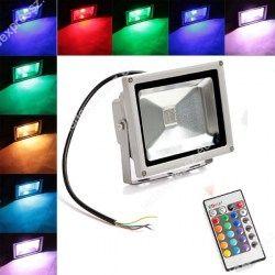 RGB Led reflektor 10W IP65 + távirányító.jpg